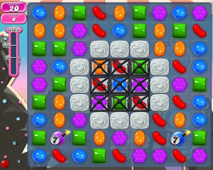 candy crush level 99 cheats